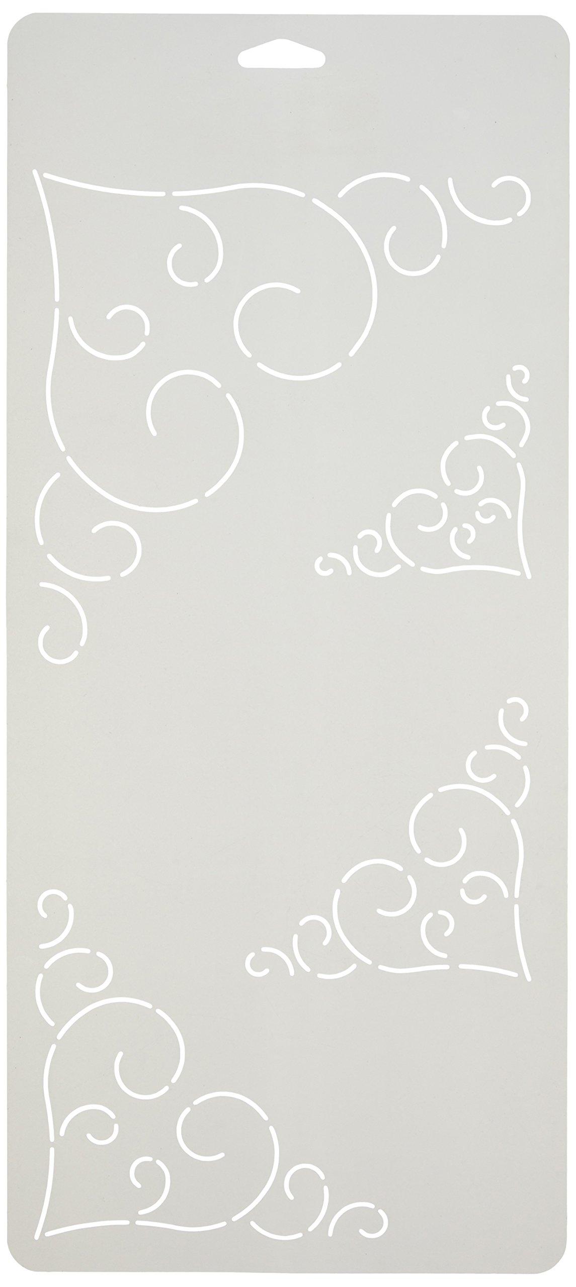 Quilt Stencils-3'', 4'', 5'' & 7'' Blocks 8''X18''