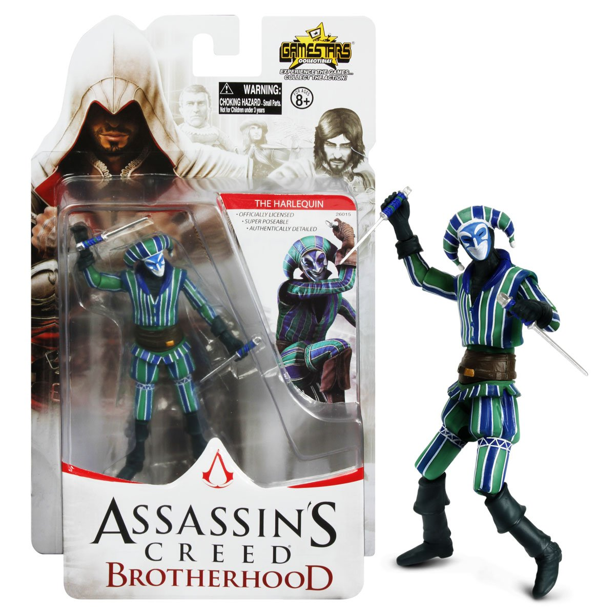 Assassin's Creed Brotherhood The Harlequin Action Figure