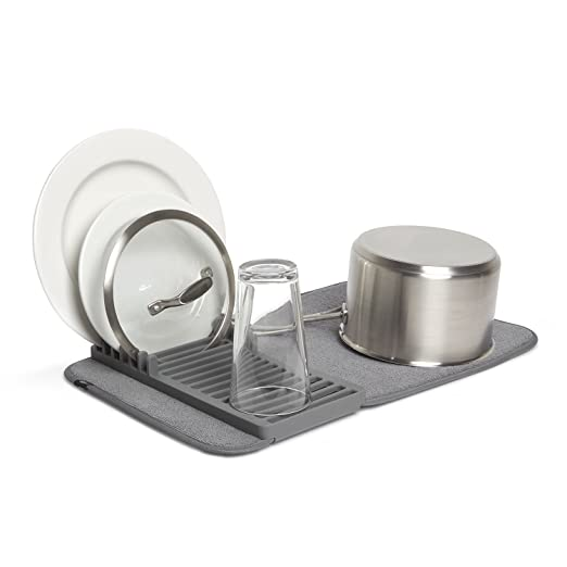Umbra 1004301 – 149 alfombrilla escurreplatos de carbón vegetal mini