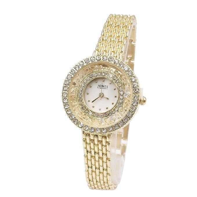 Coconano Relojes Pulsera Mujer, Noble Reloj Completo de Diamantes, Impermeable y de Alta Calidad.: Amazon.es: Ropa y accesorios