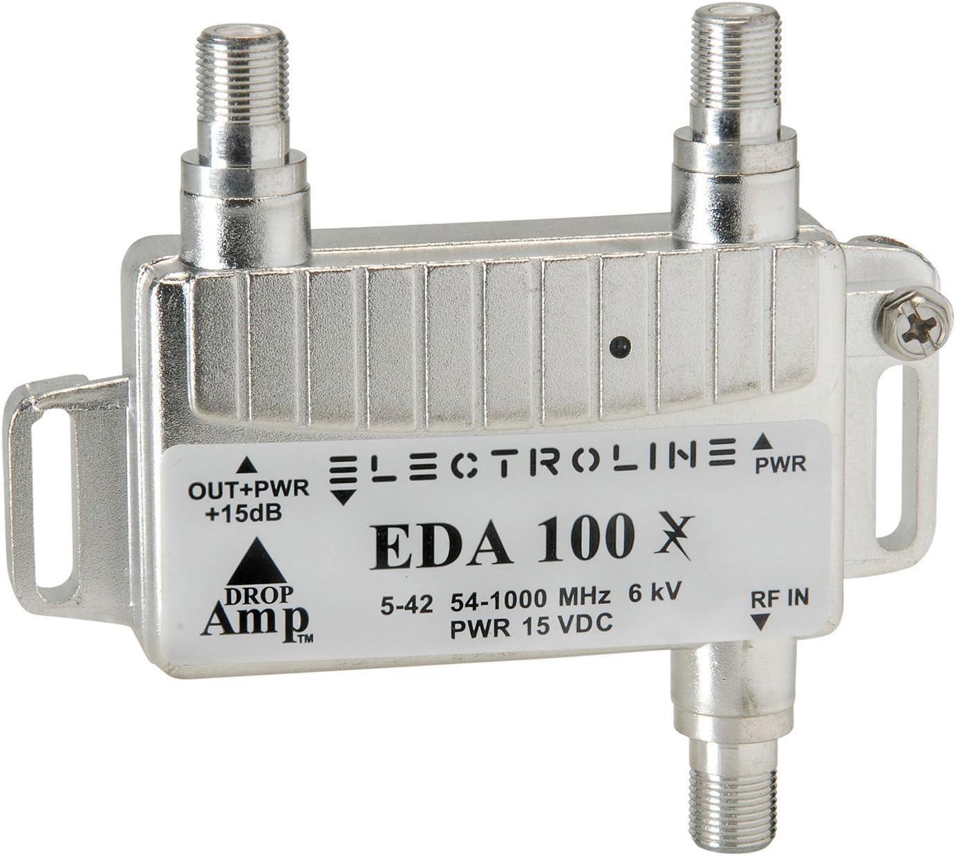 electroline EDA100 compacto bidireccional amplificador de ...