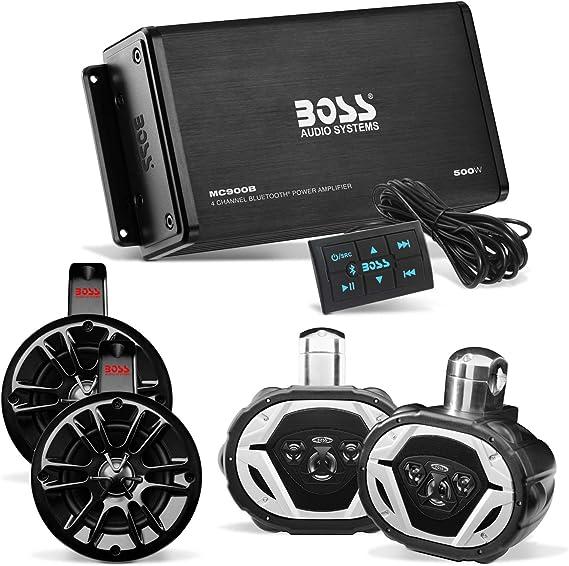 "Boss Audio MRWT40 4/"" 2-Way 400W Marine Waketower//UTV Spkr System-MRWT40"