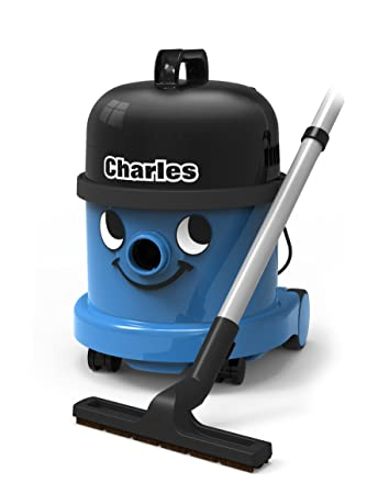 Numatic CVC370 2BL BK Charles Wet And Dry Bagged Vacuum Cleaner Blue