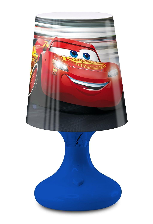 Cars Mini LED Nachttischlampe 19/cm blau