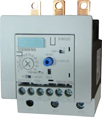 S3 Contactor Size 12.5-50A Set Current Value 3RB20462UB0 Class 20 Siemens 3RB20 46-2UB0 Solid State Overload Relay
