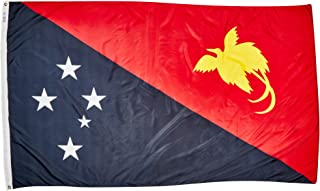 product image for Annin Flagmakers Model 196651 Papua-New-Guinea Flag Nylon SolarGuard NYL-Glo, 5x8 ft, 100% Made in USA to Official United Nations Design Specifications