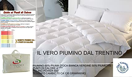 Costo Lavaggio Piumone Matrimoniale.Il Vero Piumino D Oca Del Trentino Matrimoniale Made In Italy