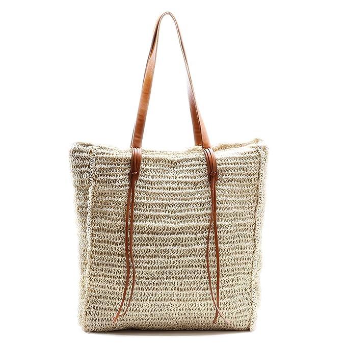 Amazon.com: Miss Fong - Bolso de playa para mujer, con ...