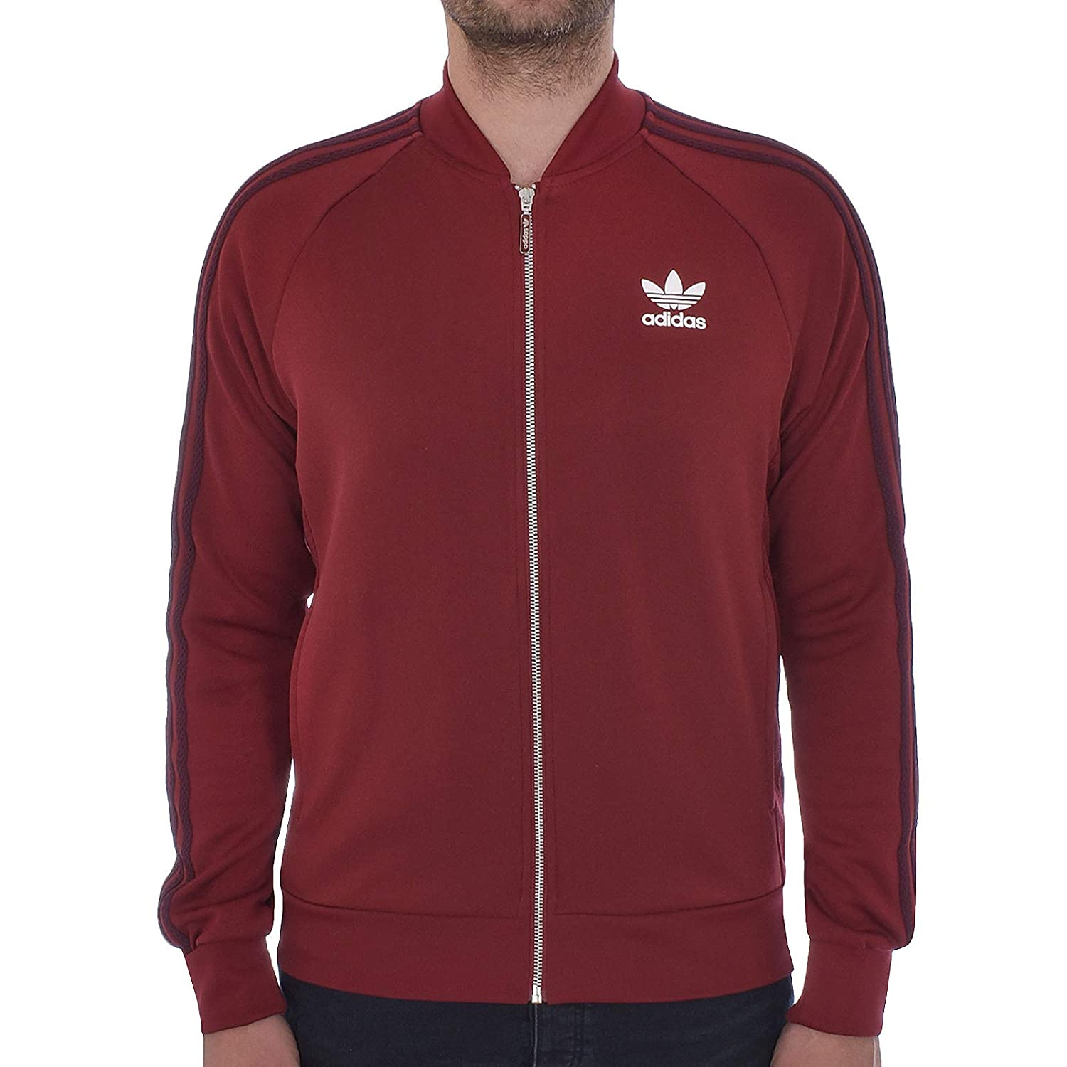 adidas Originals Track Jacket Mens SST Superstar Retro Tracksuit Top Trefoil New BQ7762