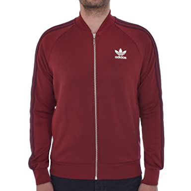 sports shoes 48bb2 3713a adidas Originals Track Jacket Mens SST Superstar Retro Tracksuit Top  Trefoil New BQ7762 (Small)