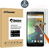 (2 Pack) OnePlus 2 Two Screen Protector Guard, Anti-Scratch [2 Pack] Ultra Clear 9H Premium Tempered Glass 0.26mm HD Screen Protector Film for One Plus 2 Two
