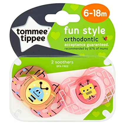 Tommee Tippee Closer to Nature - Moda: 2 x Chupete 6-18 m ...