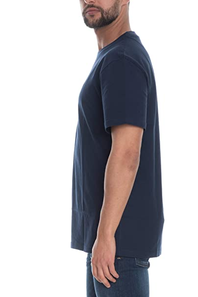 956f90ce Tommy Hilfiger Men's TJM Tommy Classics Tee T-Shirt, Blue (Black Iris 002