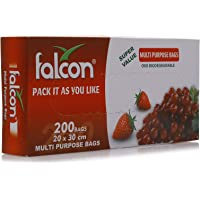 Falcon Bio-degradable Pull Cut Freezer Bag 20 X 30 cm - 200 Pieces