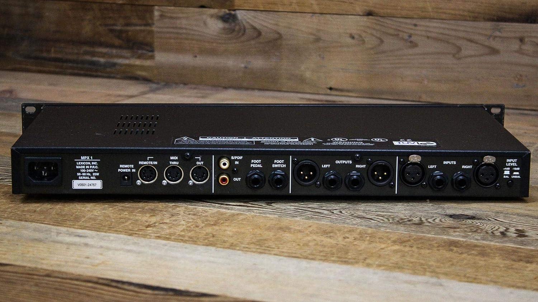 Amazon.com: Lexicon mpx1 Stereo/Dual Procesador de señal ...