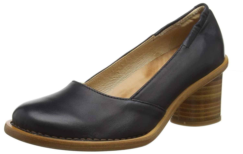 TALLA 39 EU. Neosens S577 Restored Skin Ebony/Debina, Zapatos de tacón con Punta Cerrada para Mujer