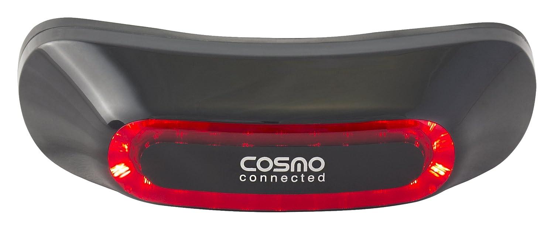 Cosmo Connected Luce di Freno Posteriore, Rimovibile, Associata Associata Associata a Un'Applicazione Mobile, Adatta alla Maggior Parte dei Tipi di Casco, Nero Lucido | Il colore è molto evidente  | Miglior Prezzo  | Vendita  | lusso  | una grande varietà  f29db9