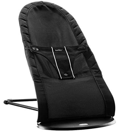 06a0267ed5f Amazon.com   BABYBJORN Babysitter Balance Air - Black Mesh (Discontinued by  Manufacturer)   Infant Bouncers And Rockers   Baby
