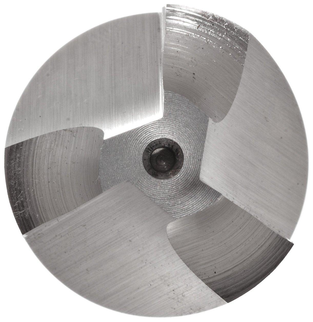 3 Flutes 30 Deg Helix 0.7500 Cutting Diameter Non-Center Cutting Melin Tool R Cobalt Steel Corner Rounding End Mill 0.75 Shank Diameter 3.1250 Overall Length Weldon Shank Uncoated Finish Bright