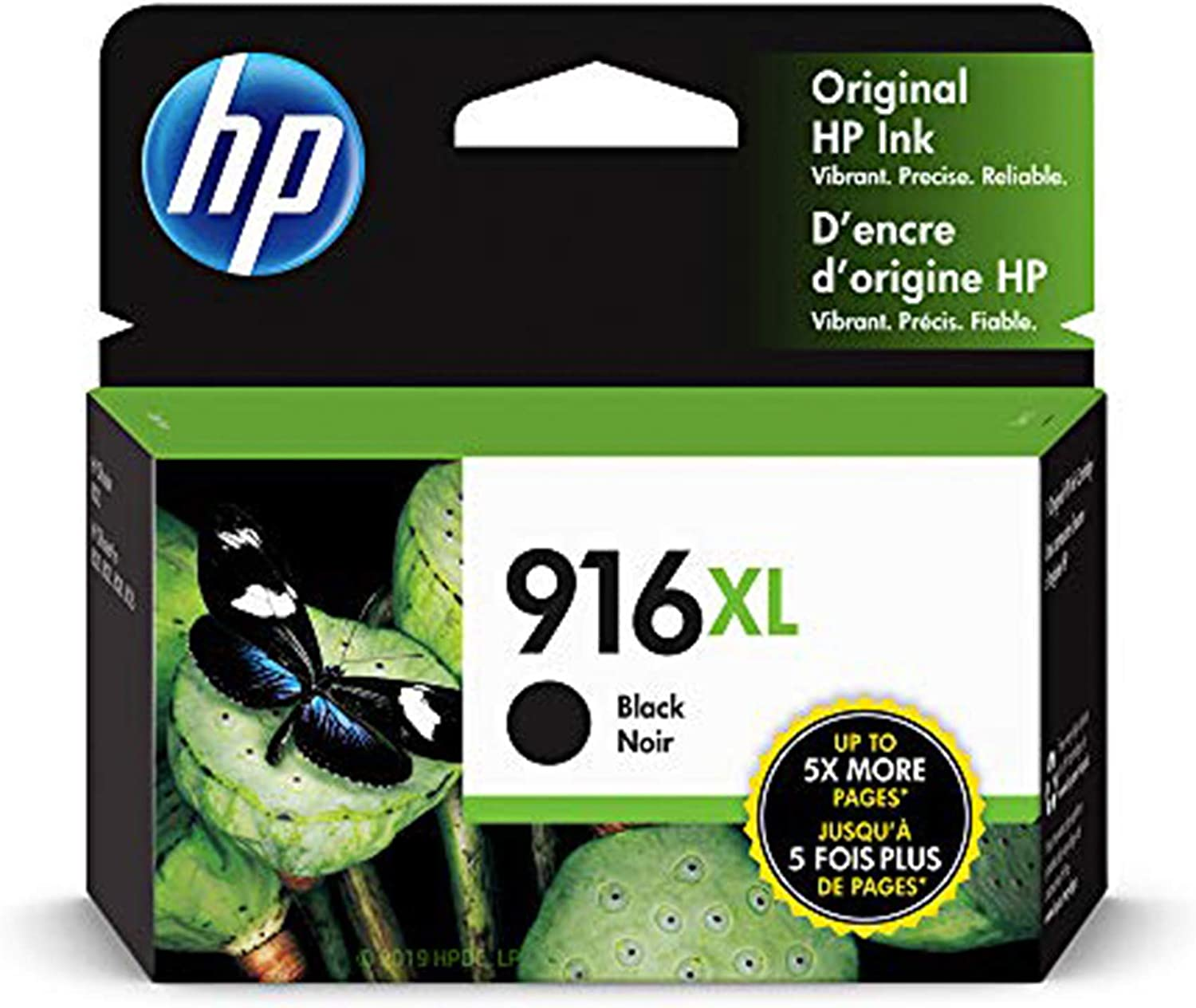 HP 3YL66AN#140 916XL | Ink Cartridge | Black