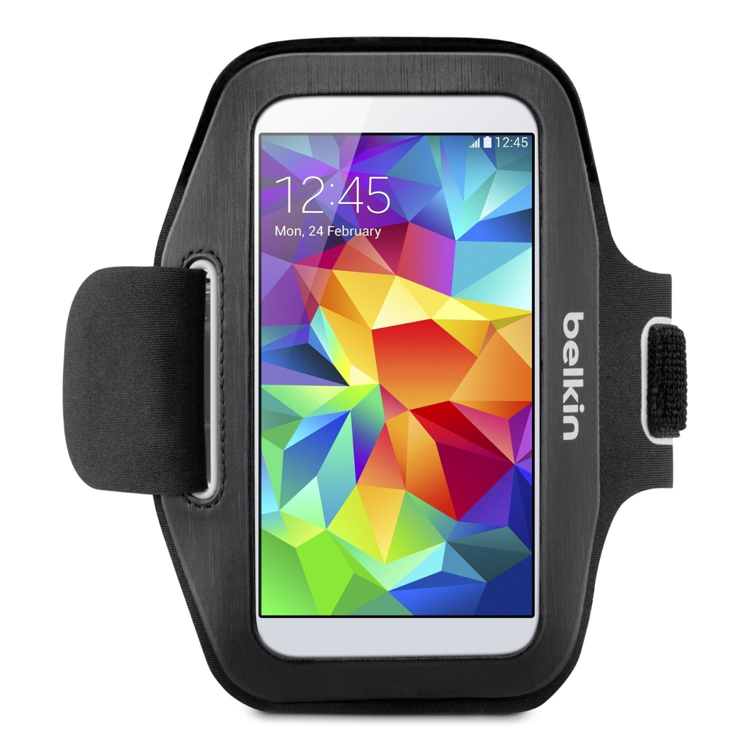 Amazon Belkin Sport Fit Armband for Samsung Galaxy S5 S4 S4 Active S3 Black Cell Phones & Accessories