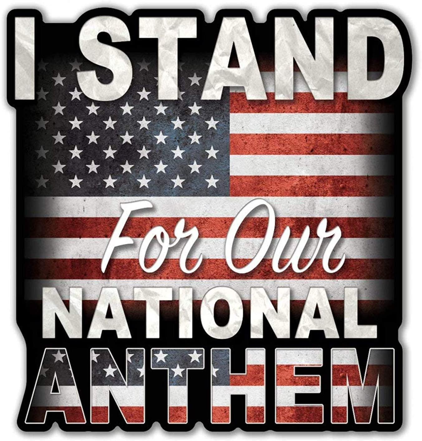 I Pledge To Stand Vinyl Decal 3-Pack