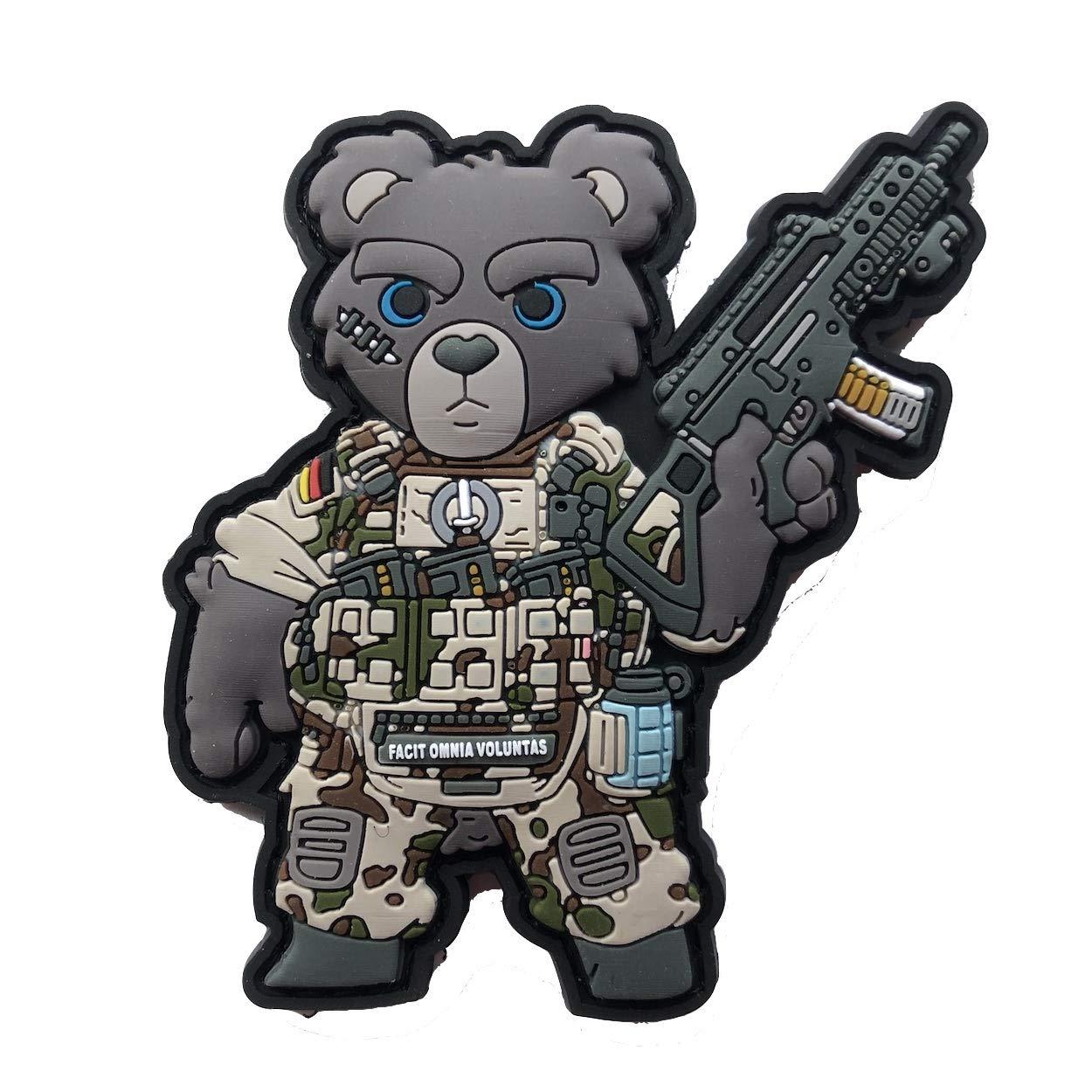 TACOPSGEAR Teddy Teddybä r Teddy Bä r Bundeswehr Soldat Armee Heer Tropentarn Patch