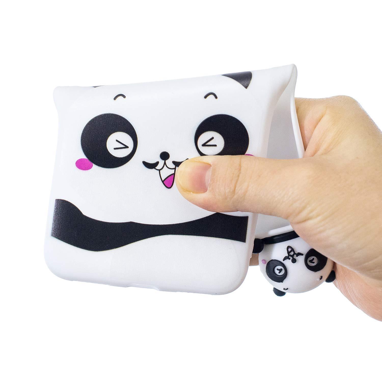 HopMore Compatible con Xiaomi Mi A2 Silicona Panda Unicornio 3D Divertidas Carcasa Bonita TPU Ultrafina Slim Case Antigolpes Resistant Cover Protecci/ón Dibujo Gracioso Rosa Pig