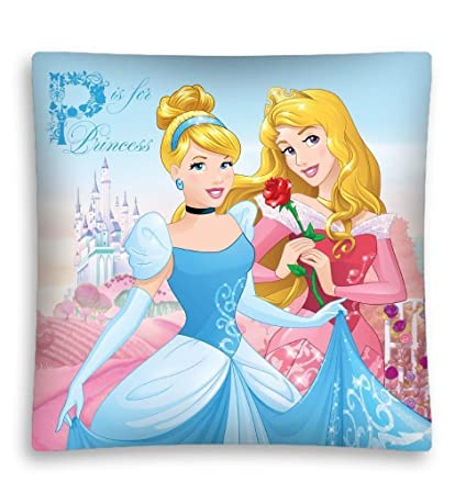 Princess Aurora, Cinderella Decorative Cushion Cover Pillow Case