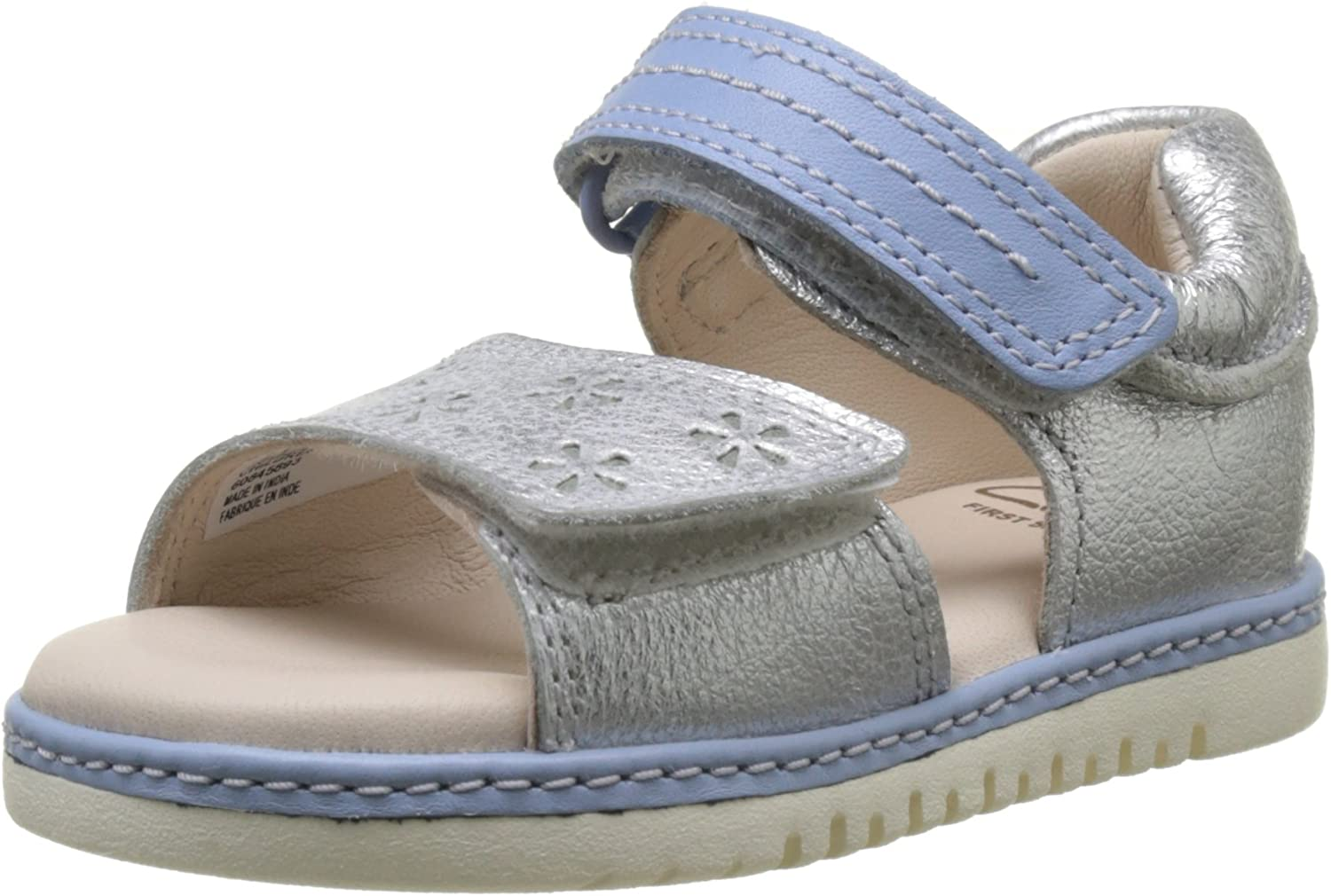 Confidencial Corrupto Insustituible  Clarks Baby Girls Tika Ice FST Walking Shoes: Amazon.co.uk: Shoes & Bags