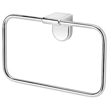 Zigzag Trading Ltd IKEA KALKGRUND - suspensión de la Toalla Cromado: Amazon.es: Hogar