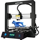 ANYCUBIC Mega-S New Upgrade 3D Printer with Extruder and Suspended Filament Rack + Free Test PLA Filament, Works with TPU/PLA