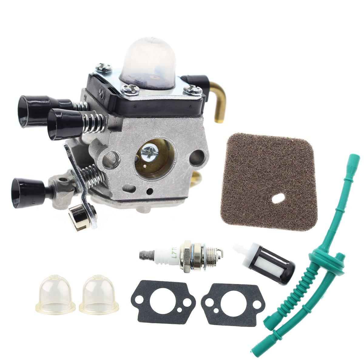 AUTOKAY New Carburetor For Stihl FS45 FS46 FS55 FC55 FS38 FS55R FS55RC KM55 HL45 Trimmer