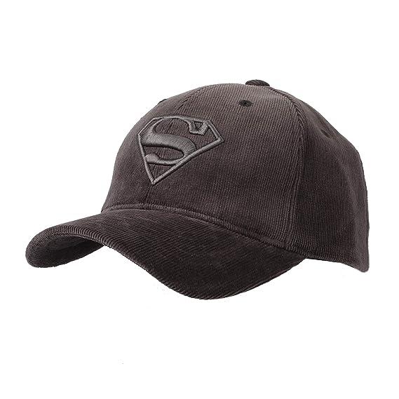 WITHMOONS Gorras de béisbol Gorra de Trucker Sombrero de Superman Shield  Embroidery Baseball Cap Corduroy Hat AC11124 (Grey)  Amazon.es  Ropa y  accesorios 429877fc8c6