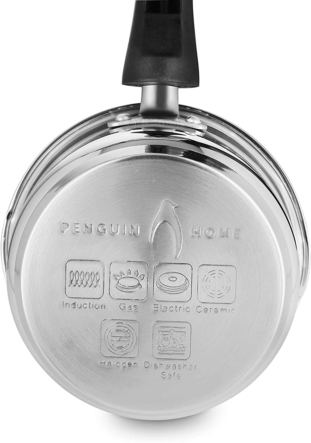 14 cm Stainless Steel Penguin Home Professional Induction-Safe Milk Pan 1 L