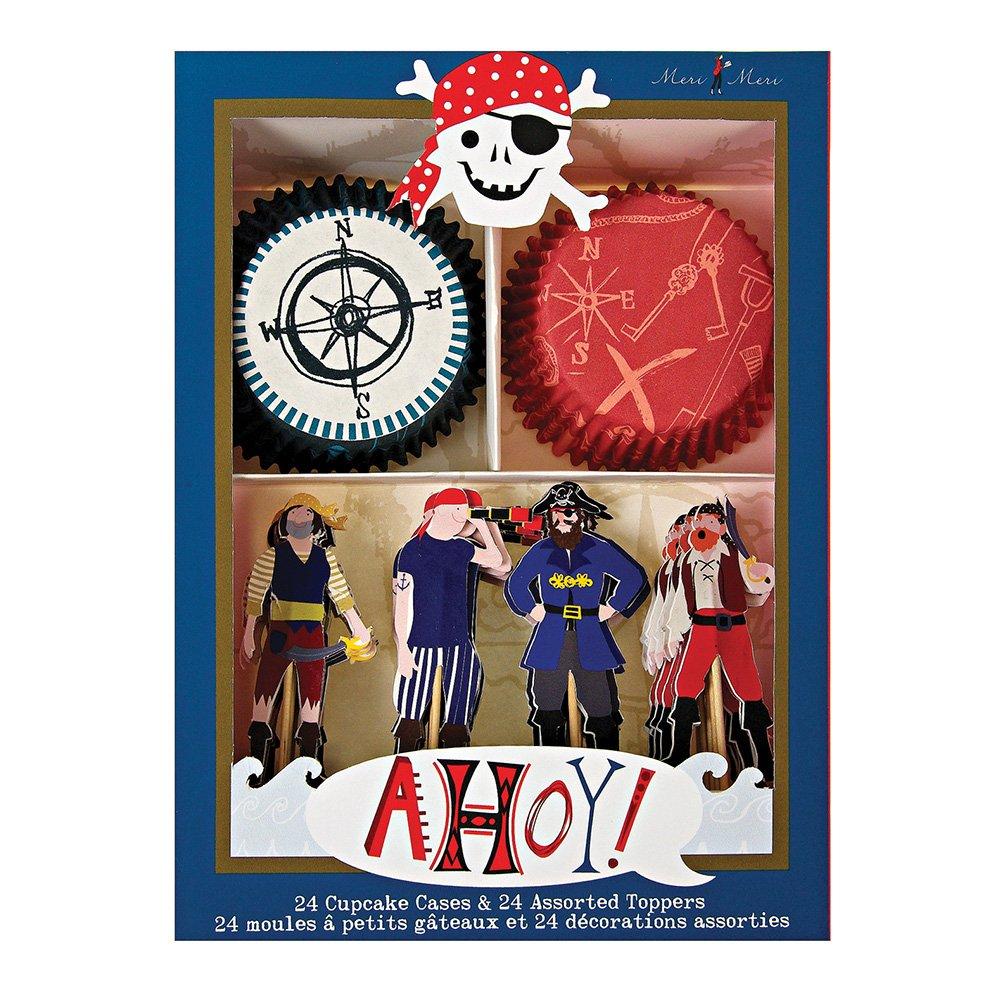 Meri Meri Ahoy There Pirate Cupcake Kit