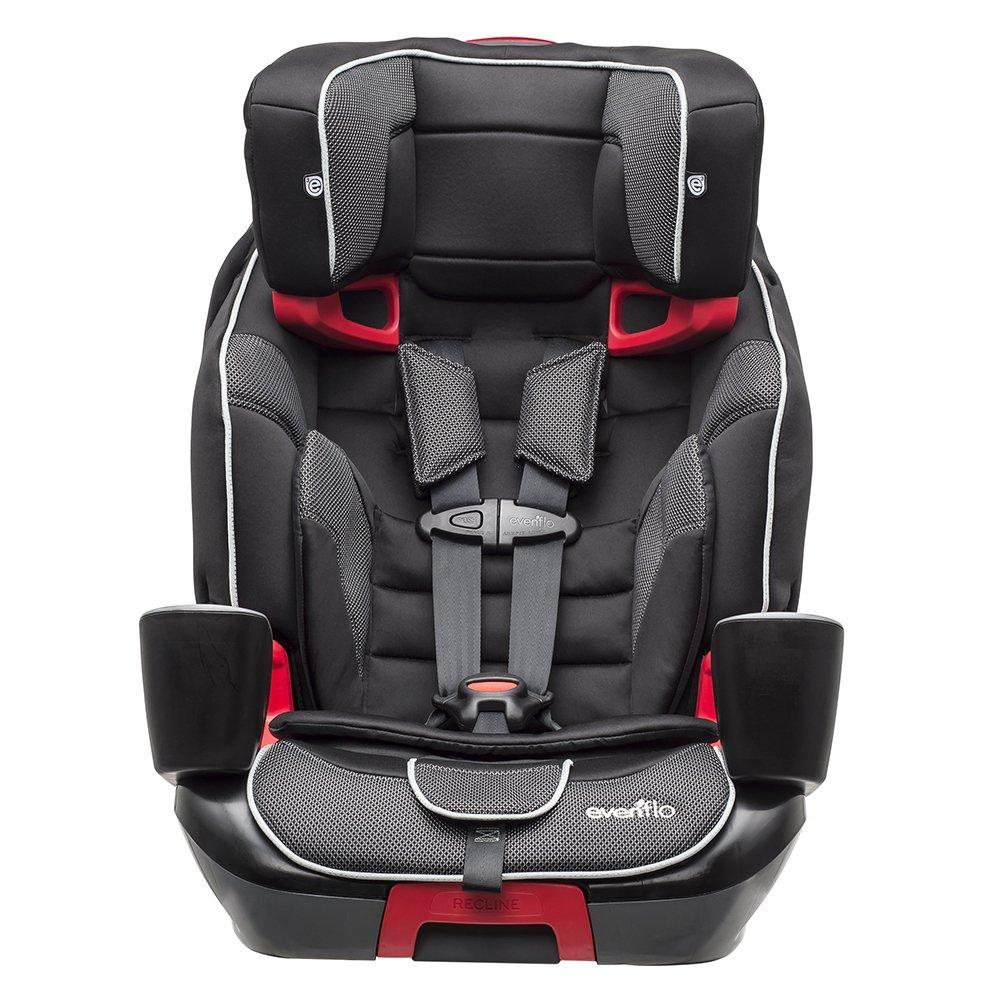 Evenflo Evolve 3-in-1 Combination Seat, Mercury, Black, One Size 34411686C