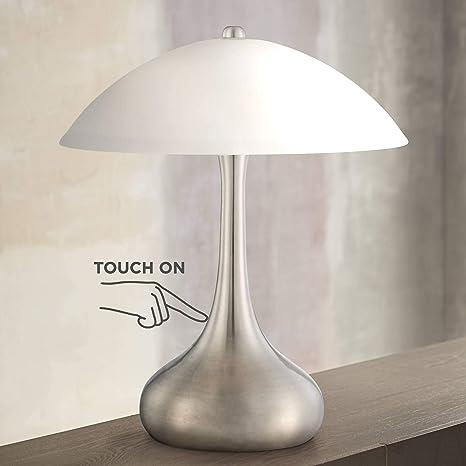 Amazon.com: Lagro - Lámpara de mesa moderna de acero ...