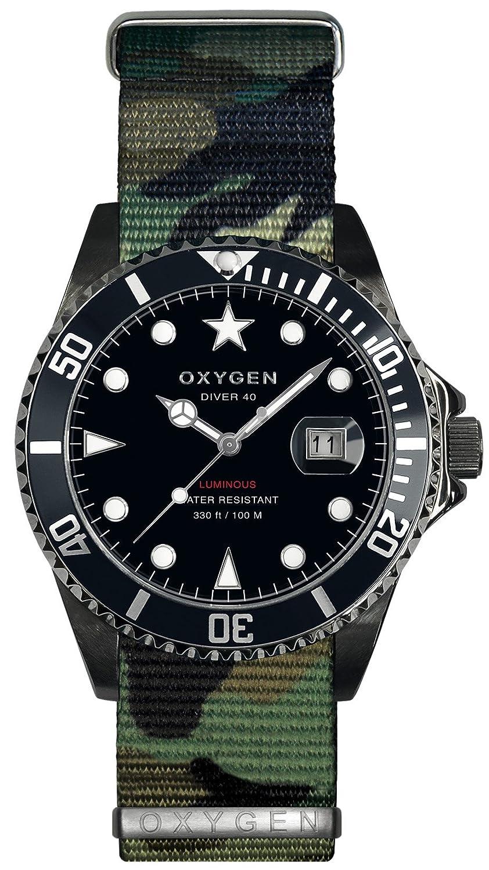 OXYGEN EX-D-MBB-40-NN-AR - Reloj de pulsera unisex, nailon, color