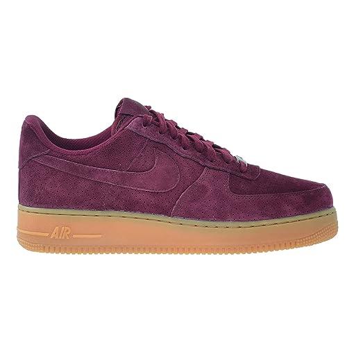4084e8d28d0d2 Amazon.com   Nike Air Force 1 '07 Suede Women's Shoes Deep Garnet ...