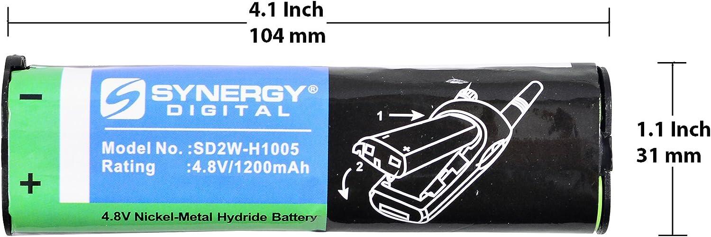 Genuine Motorola KEBT-047-1 Ni-MH 4.8V 1400 mAh 2-Way Radio Battery