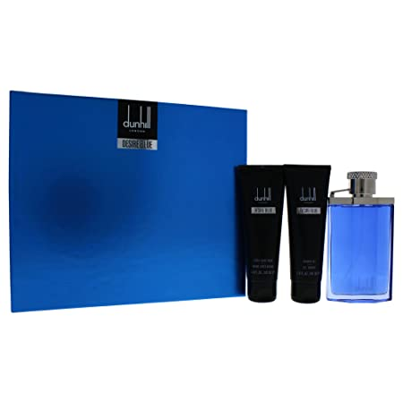 Alfred Dunhill Desire Blue London 3 Piece Gift Set for Men