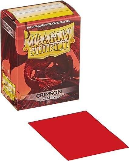 Dragon Shield Pochettes pour Cartes Crimson