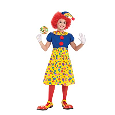 Forum Novelties Circus Clown Girl Costume, Child Medium: Toys & Games