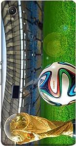 ColorKing Sony Xperia XA1 Football Multicolor Case shell cover - Fifa Cup 11