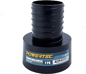 """POWERTEC 70171 Threaded Quick Coupler, 4 x 2-1/2"""""""