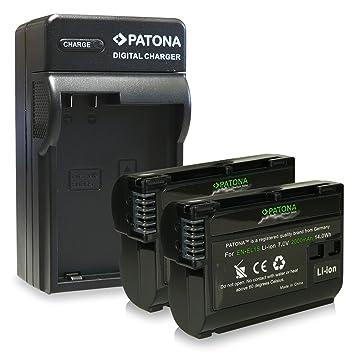 2 en 1 cargador F Nikon en-el15 1 d600 d610 d7000 d7100 d800 d8000 d800e d810