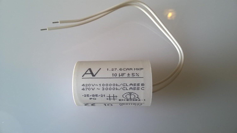 Sanipro Sanislim Saniflo Sanitop repair capacitor 10uf