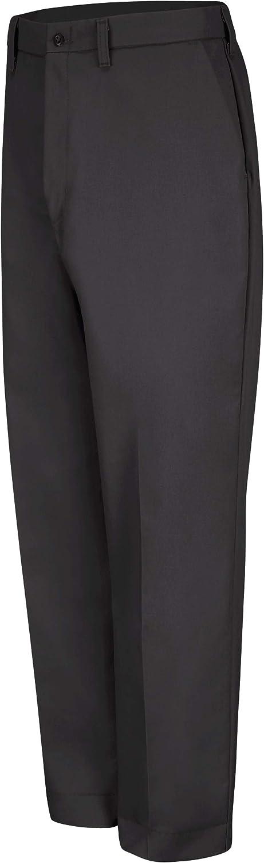 Red Kap Men's Wrinkle-Free Regular Fit Twill Blend Work Pants