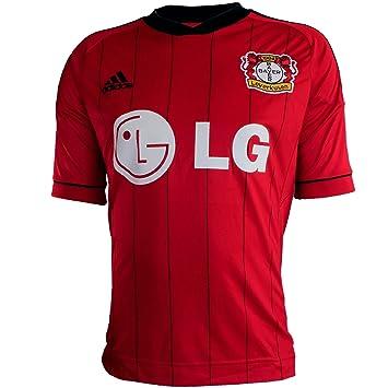 7a622555d985 adidas Bayer Leverkusen - Maglia ufficiale da uomo  Amazon.it  Sport e  tempo libero